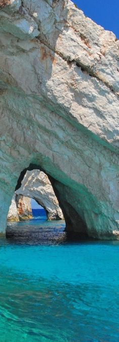 Blue Caves, Zakynthos Island, Greece