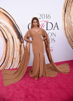 See All the 2016 CFDA Awards Red-Carpet Looks --Laverne Cox