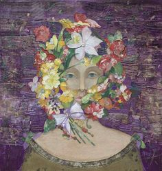 Minas Halaj - Floral Face #1