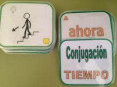 AUDICIÓN Y LENGUAJE: Barajas y otros juegos (Gramática - Morfosintaxis) Mural Digital, Sheet Pan, Ideas, Alphabet Soup, Learn Spanish, Springform Pan, Thoughts