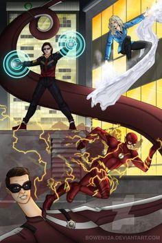 Justice League Animated Movies, Flash Season 4, Funko Pop, Flash Tv Series, Flash Wallpaper, Dc Rebirth, Dc Comics Heroes, Killer Frost, Supergirl And Flash