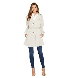 Special Offer: $22.89 amazon.com Double up on the good times in this classy trench coat. Front slip hand pockets. Button-detachable hood. Button-up, single-breast closure. Belt loops and included knot-tie belt. Belt-buttoned cuffs. Straight hemline. Materials: 100% polyester.Lining: 100%...