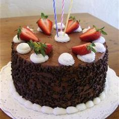 Sour Cream Chocolate Cake *****