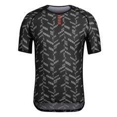 Pro Team Baselayer Short Sleeve - Data Print | Rapha