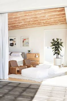 Ashley Merrill, founder and CEO of Lunya, shares with us her tips for creating a comfortable bedroom environment. One of the first places to start is by examining your own personal style and working from there. Read on to see her advice.