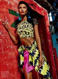Daniela Braga by Fabio Bartelt for Vogue Brazil