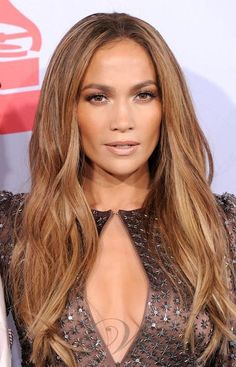 Free-Shipping-100-Indian-Remy-Queen-Human-Hair-Jennifer-Lopez-Straight-8-Ash-Brown-Hairstyle-Clip.jpg (381×594)