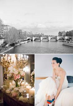 Julie and Zak | Gold and blush Parisian magnificence for a Jew-ish destination wedding at Maison des X, Paris, France