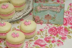 Pink Piccadilly Pastries: Fancy French Macarons with Cherry Buttercream