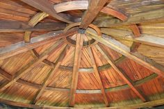 Gazebo Roofs | Internal Wood Roof with Thatched Tiles