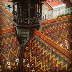 Color and pattern. Cathedral St. Elizabeth, Košice, Slovakia