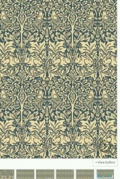 Morris-co-rabbit-vintage-wallpaper-paid-60-from-john-lewis