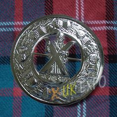 St. Andrews Brooche | Plaid Brooches
