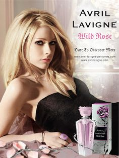 The Face of Beauty - Celebrity Fragrance: Wild Rose Perfume by Avril Lavigne