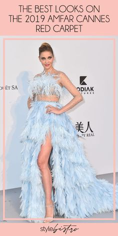 While the Cannes Film Festival is known for its glamorous red carpet and A-list attendees, the event's annual amfAR Gala also sees a number of fabulous gowns — along with a roster of superstar models.