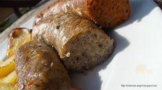 Vega hurka elkészítése Vegan Chorizo, Vegan Vegetarian, Paleo, Vegan Food, Falafel, Recipe Box, Sausage, Vegan Recipes, Pork