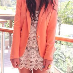 Dress and Blazer