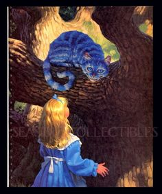 Alice and Cheshire cat, Greg Hildebrandt