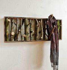 Schöne Garderobe und zwar nicht nur für das Gartenhaus  :-)