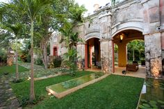 Hacienda Sac Chich is a unique vacation property on one of the most sought after sections of Mexico's Yucatan Peninsula. This luxury estate has three private residences, each of which offers its own unique atmosphere and experience. Two of the vacation homes at Sac Chich sit in the historic Casa de Maquinas. The limestone buildings …
