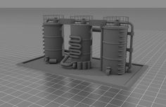 3D terrain file for tabletop wargaming. Available through SimplePolytrix's Kickstarter, launching June 21 OR through their website directly after the conclusion.