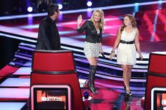 2 Steel Girls #TeamBlake #TheVoice