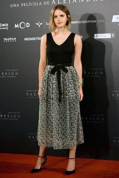 "Emma Watson - ""Regression"" Madrid Photocall - Christopher Kane"