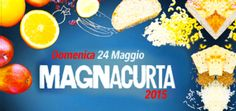 Magnacurta Food and wine walking tour     May 24, in Ponte di Barbarano, about 13 miles south of Vicenza; registrations start at 8:45 a.m. at the playground on Via Giovanni XXIII; registration fee: €12; €10 for children younger than 13; free for children younger than three;  a special prize will be awarded to the participant who will eat the most at the end of the walking tour (contestant will be weighed before and after the march); live music start at 2 p.m.