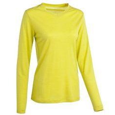 Montagne_Habillement Vêtements - TSHIRT TECHWOOL 50 L ML LIGHT QUECHUA - Haut du corps