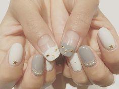(310059) Pretty Nails, All The Colors, Manicure, Nail Designs, Nail Art, Beauty, Hair, Ideas, Fingernail Designs