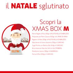 Scegli la Xmas Box che fa per te! Xmas Box M 20€ Xmas Box L 30€ Xmas Box XL 40€ Approfittane subito e risparmi oltre il 35% sui prodotti acquistati! http://sglutinati.it/offerte_del_mese/