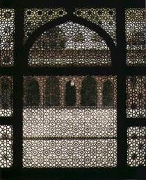 Fatehpur Sikri, Tomb of Salim Chishti, 1573-4. From Blair and Bloom, The Art and Architecture of Islam, p. 273.