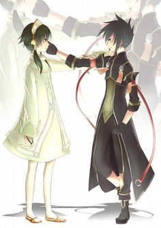 Tags: Anime, Fanart, Tales of the Abyss, Synch the Gale, Fon Master Ion