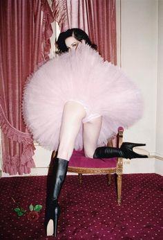 Dita Von Teese photographed by Ellen von Unwerth in 2005