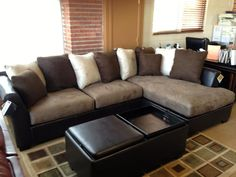EuroMod Series Serafina 3Piece Sectional 981 Click to enlarge