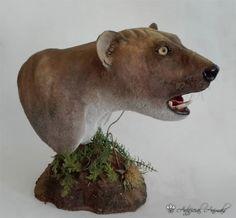 Thylacoleo carnifex recreation Moose Art, Animals, Extinct Animals, Museums, Animales, Animaux, Animal Memes, Animal, Animais