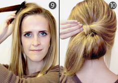 Hair and Make-up by Steph: How To: Retro Bouffant