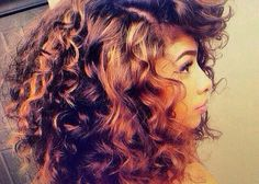 Flexi rod curls