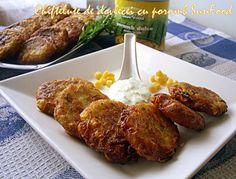 Arome si culori : Chiftelute de dovlecei cu porumb SunFood
