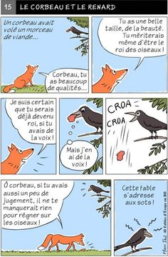 Fables D'esope, Lion And The Mouse, French Cartoons, Kids Story Books, French Lessons, Teaching French, Idioms, Literature, Activities