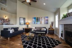 The Umpqua floor plan by Hayden Homes provides space, style and function in an impressive two-story home.