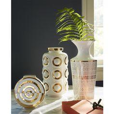 Jonathan Adler Bullseye Futura Vase