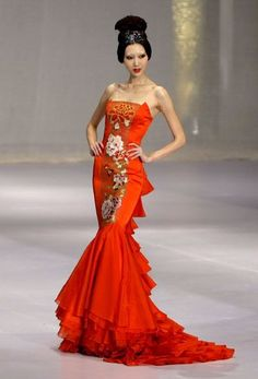 Chinese Gown China Fashion Style