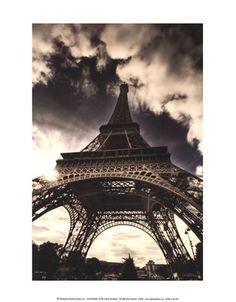 The Eiffel Tower (vertical) by Mark Verlijdonk