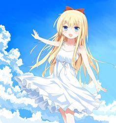 [Moe bot][#1271] A Sundress Kyouko is a Happy Kyouko [#yuru#yuri]