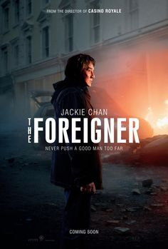 THE FOREIGNER movie review starring Jackie Chan and Pierce Brosnan!