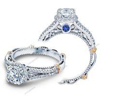 1-2/3 CT Twist Shank 14K White Gold Finish Round D/VVS1 Diamond Engagement Ring #aonejewels #EngagementWeddingAnniversary
