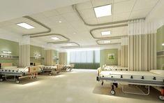 Hospital ward interior design | Download 3D House