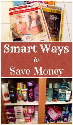 TIPS ~ Smart ways to save money, EASY and helpful!