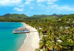 Sandals Halcyon Beach Resort All Inclusive Honeymoon Resorts, Vacation Resorts, Dream Vacations, Vacation Trips, Vacation Packages, Vacation Ideas, Luxury Resorts, Vacation Travel, Vacation Places